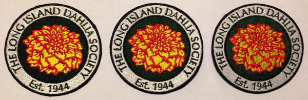 Long Island Dahlia Society Patches