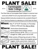 Plant Sale at Farmingdale State College